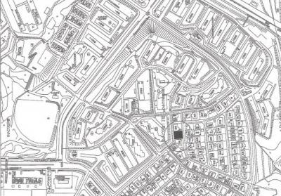 【地図】ひよどり台1丁目 新築戸建