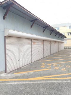 【外観】下坂部2丁目119-2シャッター付ガレージ 管理番号44