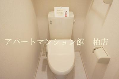 【トイレ】BLESSHOUSE柏西町C