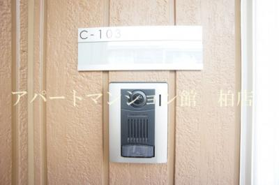 【セキュリティ】BLESSHOUSE柏西町C
