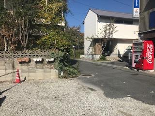 【前面道路含む現地写真】東大阪市東石切町1丁目 売地