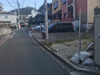 【前面道路含む現地写真】東大阪市立花町 売土地