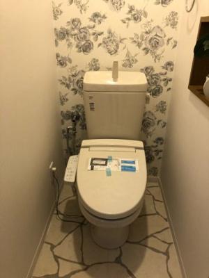 【トイレ】寝屋川市葛原新町 中古戸建て