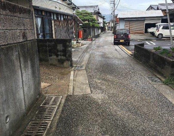 【前面道路含む現地写真】比島町2