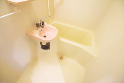 【浴室】コーポグランピネード