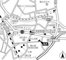HOF伊達坂の地図
