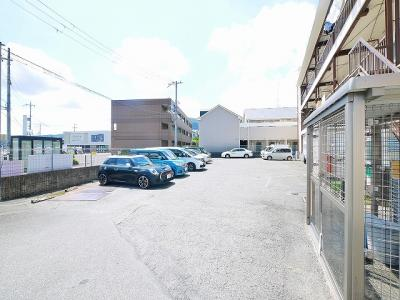 【駐車場】東生駒マンション貸店舗