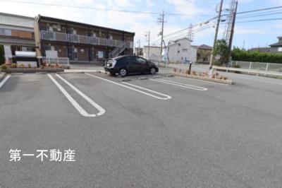 【駐車場】アンソレイユ2