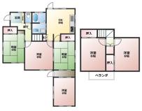 市原市東国分寺台 6DK 内房線五井駅の画像