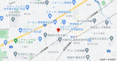 【地図】前田コーポ (株)Roots