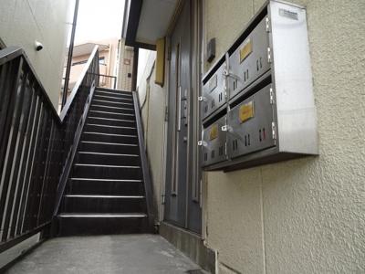 長谷川ビル 共用廊下
