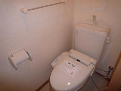【トイレ】クローバーハイツ