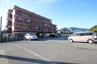 【外観】アンソレイエ月極駐車場