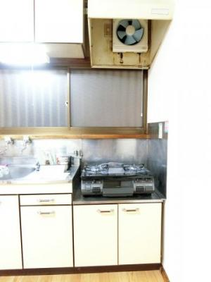ガスコンロ設置可能のキッチンです☆ガスコンロプレゼント♪