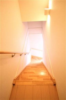 2階から3階までの階段です。
