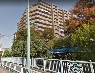 【外観】ナイスパークステイツ東陽町仙台堀川公園  8階 リ フォーム済