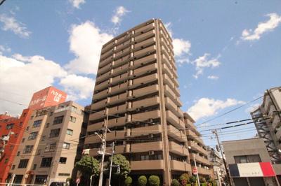 【外観】メロディ-ハイム大島 13F リ ノベーション済 大島駅2分