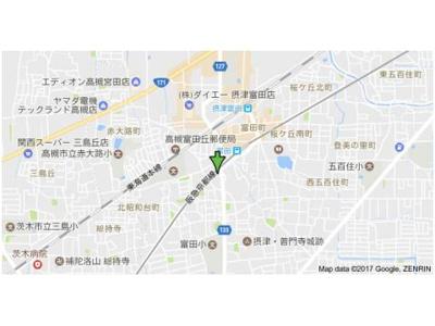 【地図】ハイツエレガンス