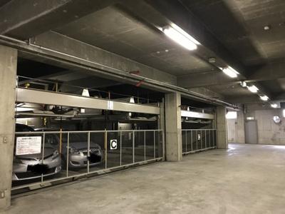 駐車場。月額10000円。