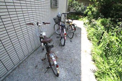 駐輪スペース 初回登録料有 コートヤード