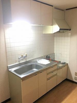【キッチン】ベルフラワーマンション