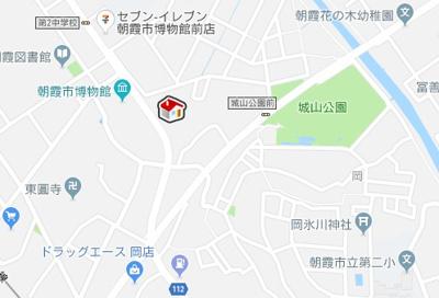 【地図】城山(55854-104)