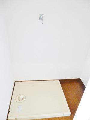 洗濯機置き場。ユキパレス