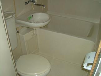 コンパクトで使いやすいお風呂です。ユキパレス