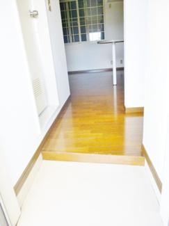 毎日通る玄関はこちらです。ユキパレス