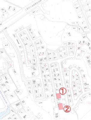 【地図】玉野市田井5丁目 2区画