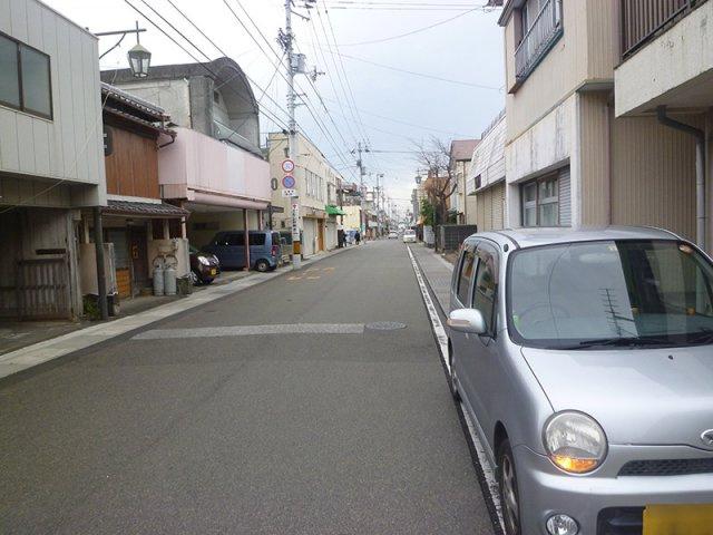 【前面道路含む現地写真】土佐山田町西本町3