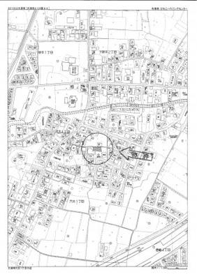 【地図】穴太1丁目