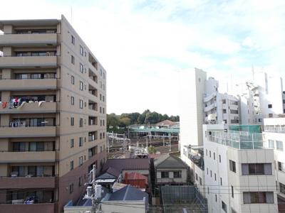 竹内マンション ベランダからの眺望