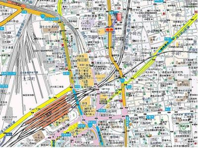 谷町線の中崎町駅、御堂筋線の中津駅が利用可能!梅田も徒歩10分圏内!