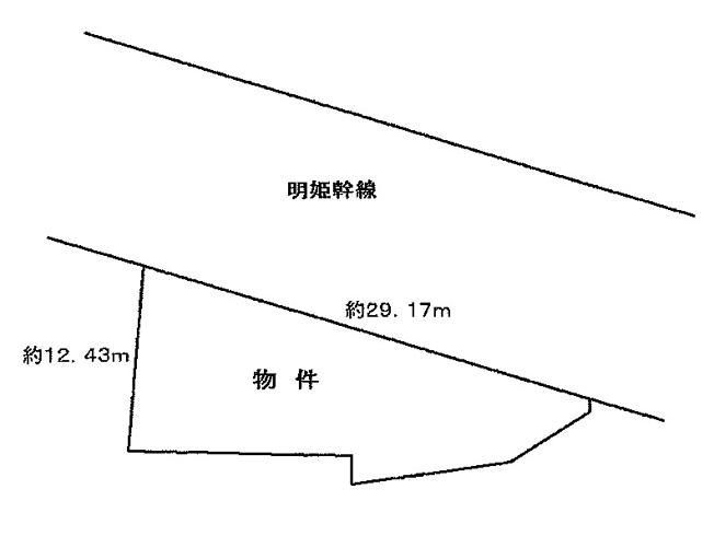 【土地図】明石市魚住町金ヶ崎 売土地