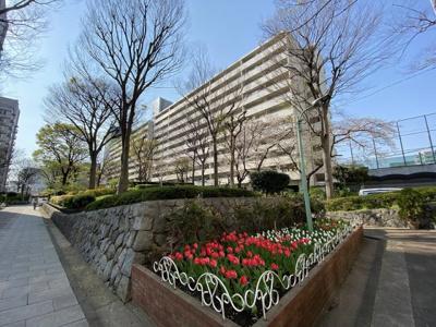【外観】亀戸二丁目団地9号棟 2階 リノベション済