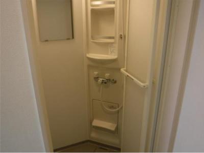 フェリスライリーの日々の暮らしに欠かせないシャワールームです