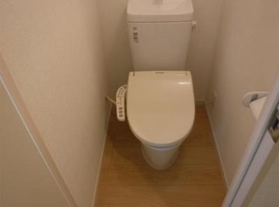 フェリスライリーのシンプルで使いやすいトイレです