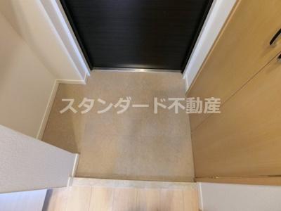 【玄関】ノースヴィレッジ5番館