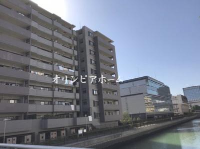 【外観】クレストフォルム清澄庭園 平米13年築 空室 4階部分