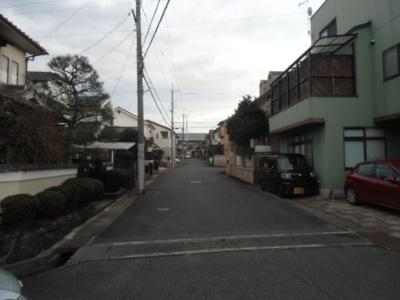 【前面道路含む現地写真】一里山5丁目