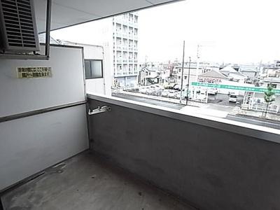 【バルコニー】セントラルプラザ六甲