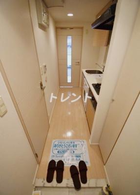【玄関】ドゥーエ新富町
