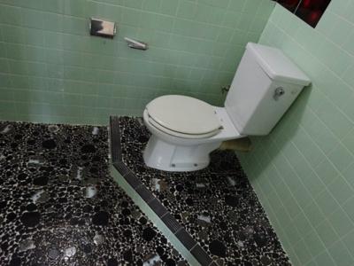 広めのトイレです