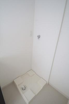室内洗濯機置場ございます。※写真は他号室のものです。
