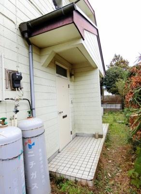 【玄関】山崎テラスハウス