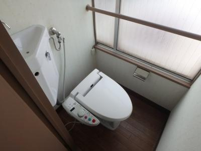 【トイレ】エイシン長栄寺ビル