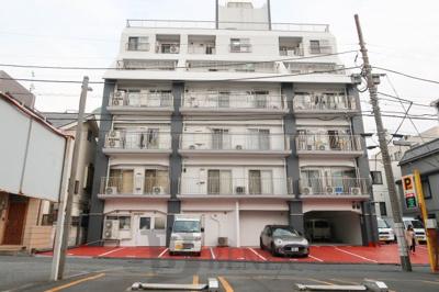信川ハイツの外観です
