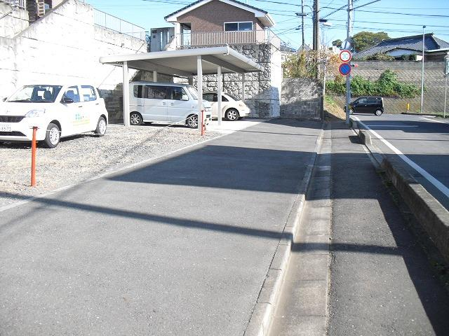 【前面道路含む現地写真】ひたちなか市市毛土地