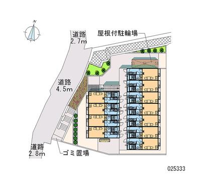【区画図】スプリングガーデン